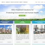 Web development WordPress for air pollution, energy industries