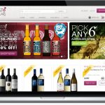 First Cellars - website