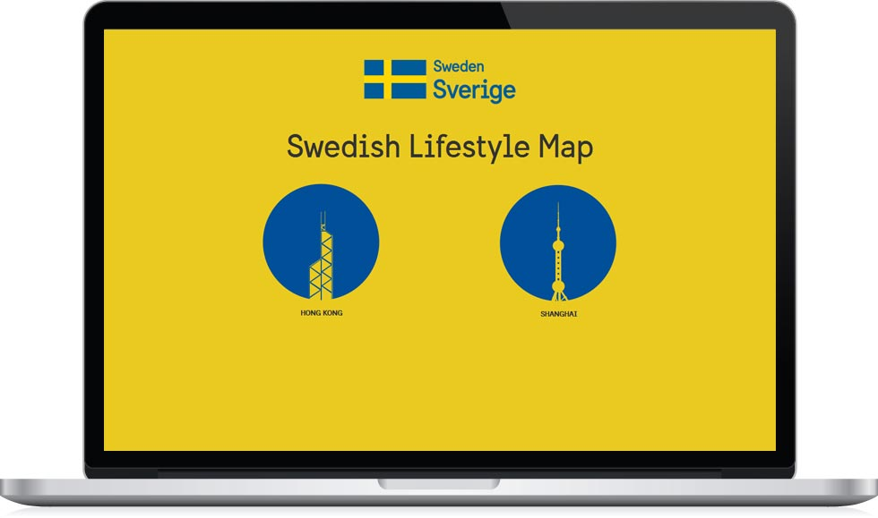 The Swedish Lifestyle Map - frontpage