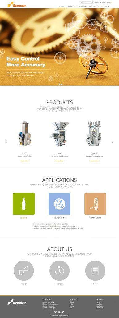 Webbsida av Julian Kommunikation för läkemedel och mattillverkning