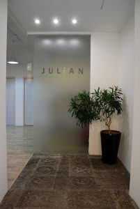 Entry to Julian's office