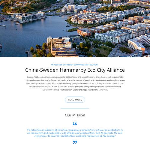 Web production Case Study Business Sweden